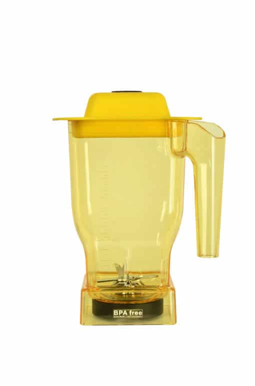 Yellow BPA free 1.5L B-jar