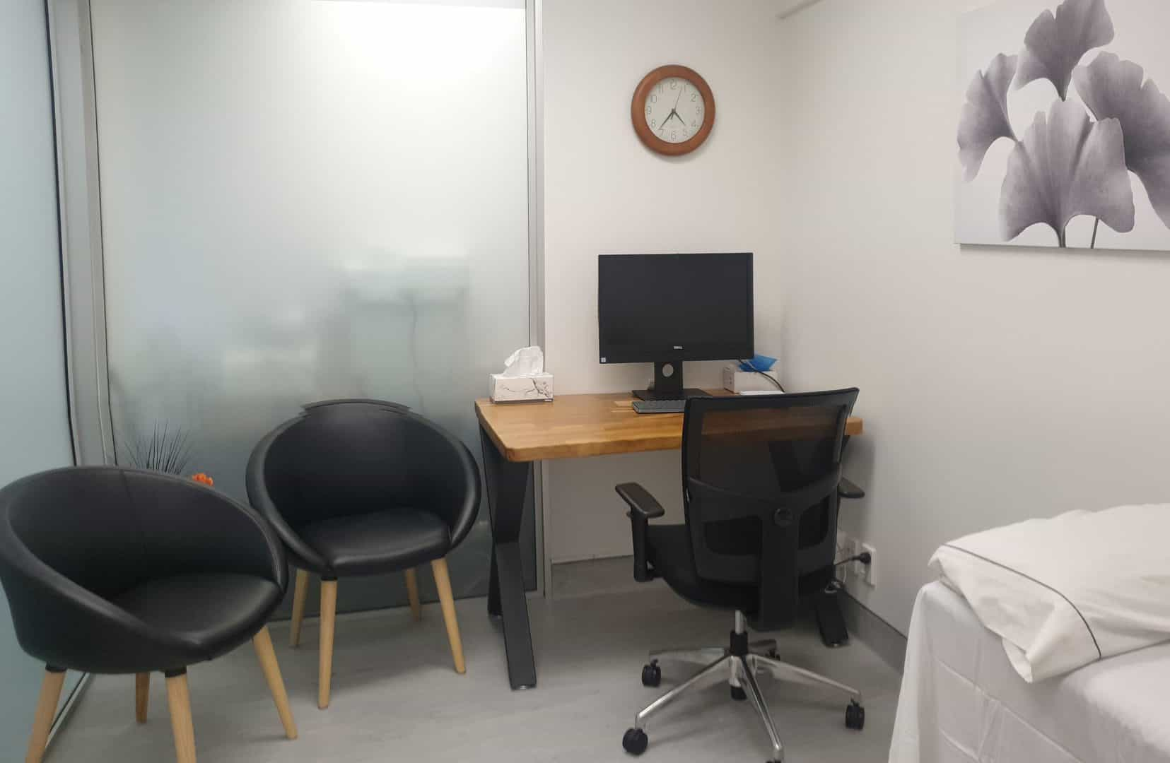 Medical standard consulting room