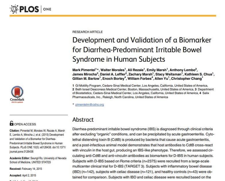 PlosOne Research paper