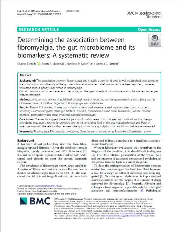 BMCMusculoskeletal Disorders